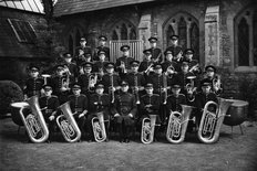 Morris Motors Brass Band 1949