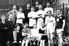 Wolseley Athletics team in 1910