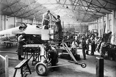 WW1 Aeroplane Production