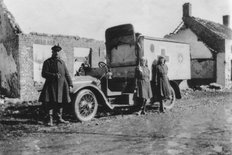 Wolseley field ambulance 1916