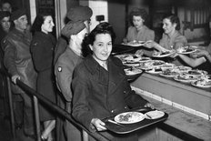 Nuffield canteen 1940s