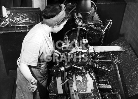 Solihull factory Rover Company 1940s