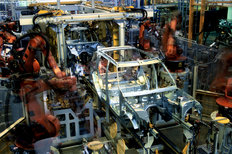 Solihull factory Land Rover 2001
