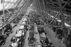 Abingdon factory MG 1949