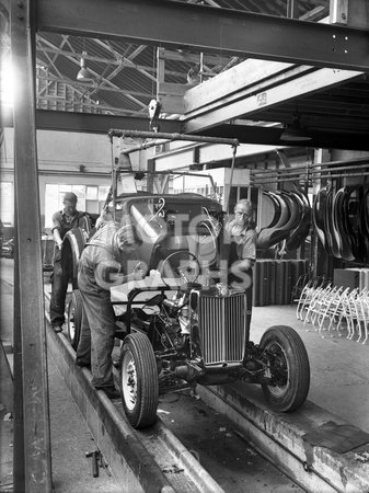 Abingdon Mg Td Assembly 1950 Motorgraphs