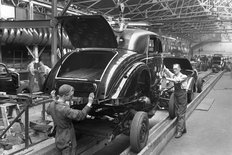 Abingdon factory MG 1950