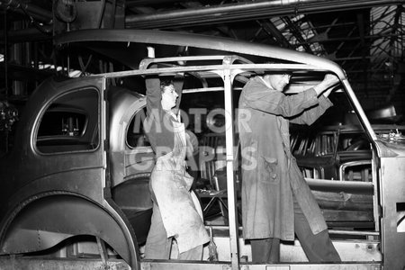 Carbodies factory Coventry 1956