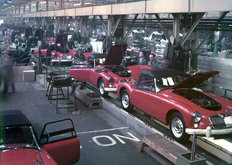 Abingdon factory MG 1958