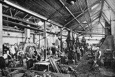 Rover factory Coventry circa 1910