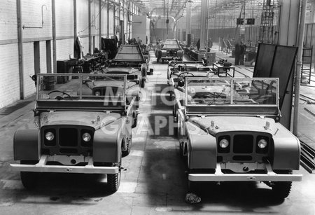Solihull factory Rover Company 1948