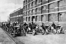 Rover factory Coventry 1900s
