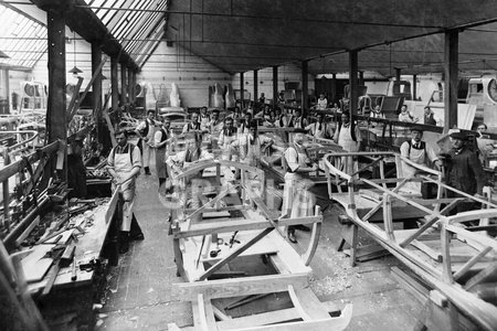Rover factory Coventry 1910