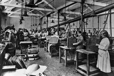 Rover factory Coventry circa 1913