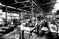Wolseley factory Birmingham 1909