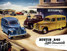 Austin A40 Light Commercials 1952