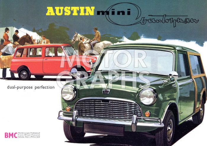 Austin Mini Countryman 1964 Motorgraphs
