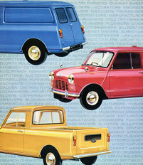 Morris Mini Van and Pick-up 1965