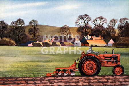 Nuffield Universal 4r-wheel tractor 1950