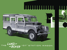 Land Rover Series I 1956