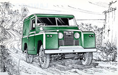 Land Rover Series IIa 1966