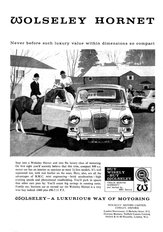 Wolseley Hornet (Mini) 1963