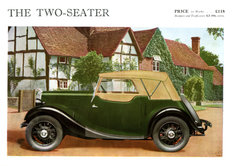 Morris Eight Series I 2-seater 1935