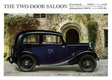 Morris Eight Series I 2-door saloon 1935
