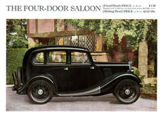 Morris Eight Series I 4-door saloon 1935