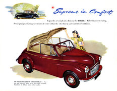 Morris Minor Series MM Convertible 1949