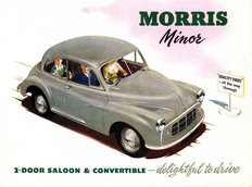 Morris Minor Series MM 4-door Saloon 1951
