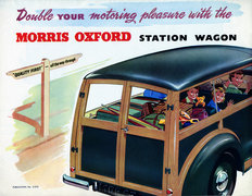 Morris Oxford MO station wagon 1953