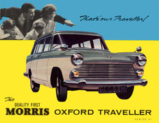 Morris Oxford Traveller Series 6