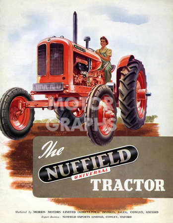 Nuffield Universal 4-wheel tractor 1949