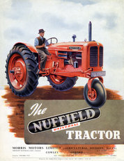 Nuffield Universal three-wheel Tractor 1949