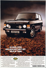 Range Rover CSK 1990 Limited Edition