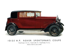 Rover 10/25 Sportmans Coupe 1930
