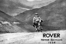 Rover motor bicycles (motorcycles) 1924