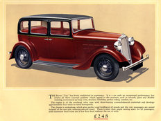 Rover Ten saloon 1935