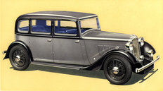 Rover Twelve Saloon 1935