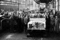 Solihull factory Rover Company 1952