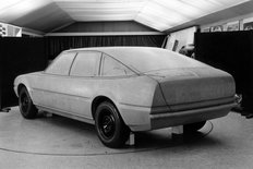 Rover SD1 clay mock up 1970s
