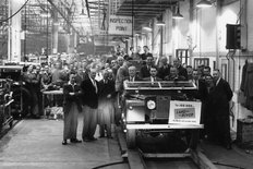 Solihull factory Rover Company 1954
