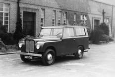 Road Rover Prototype outside Rover Company offices at Solihull
