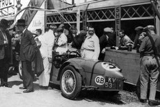 Riley MPH 1935 in the pits