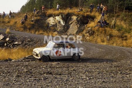 RAC Rally 1966 Scotland