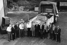 Rover BRM gas turbine car Engineering team