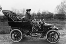 Wolseley 10 hp tourer circa 1905