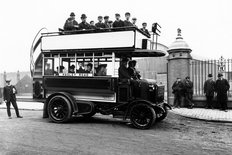 Wolseley double decker bus 1900s