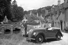 Morris Eight tourer 1939