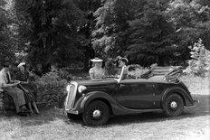 Wolseley Ten coupe 1930s